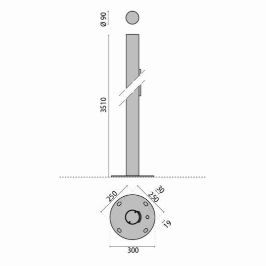 A0474/304-3.5 PALO CIL.3.5+PB/ 1