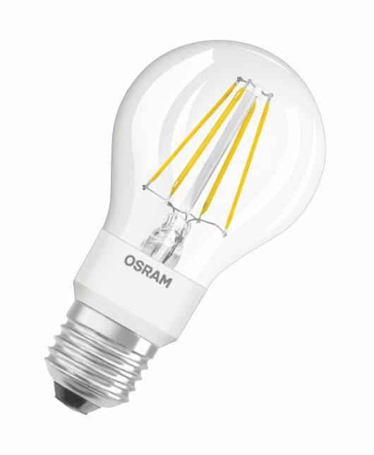 Bec A40 Filament E27 230V Glowdim 2700K/2000K Dimabil 4.5W 1