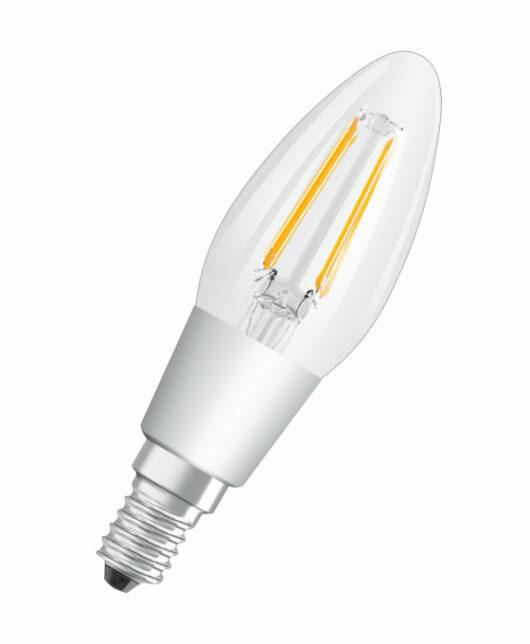 Bec B40 Filament E14 230V Glowdim 2700K/2000K Dimabil 4.5W 1