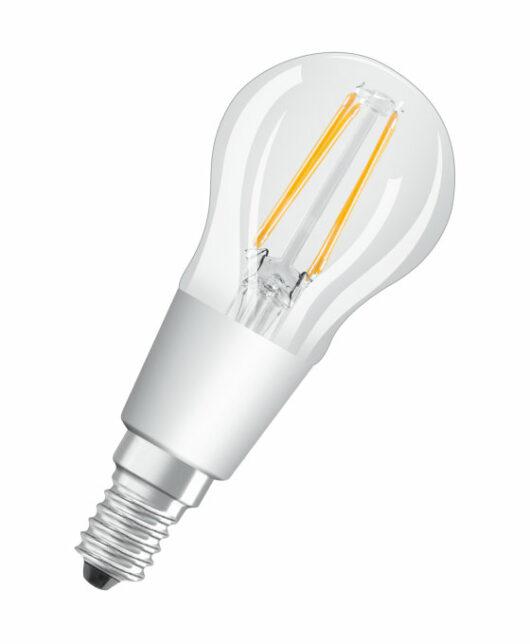 Bec P40 Filament E14 230V Glowdim 2700K/2000K Dimabil 4.5W 1