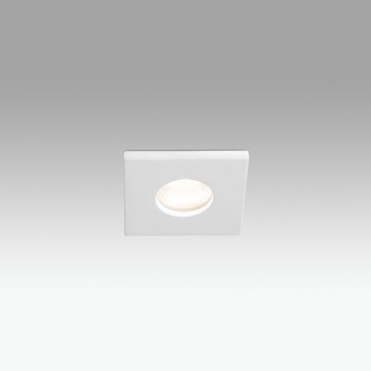 Compac Square Alb Recessed 15W 3000K 36° 1