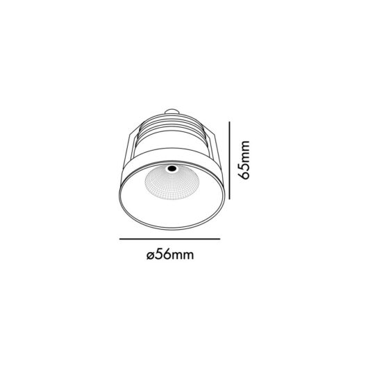 Aim Alb spot Led 3W 3000K 2