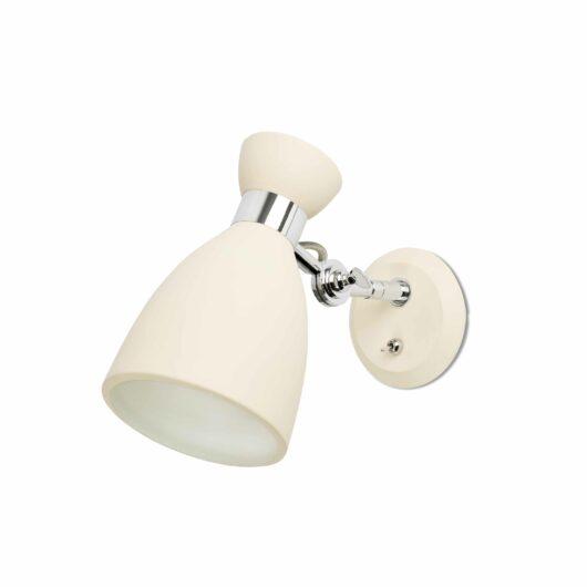 Retro Beige Lampa de perete 1 X E14 Max 20W 1