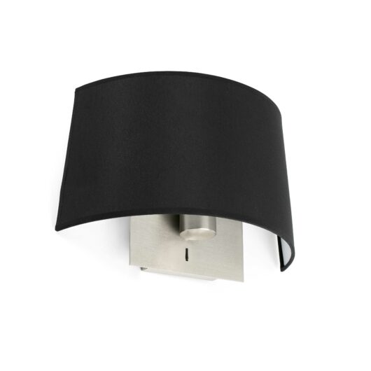 Volta Negru Lampa de perete E27 20W 2700K 1