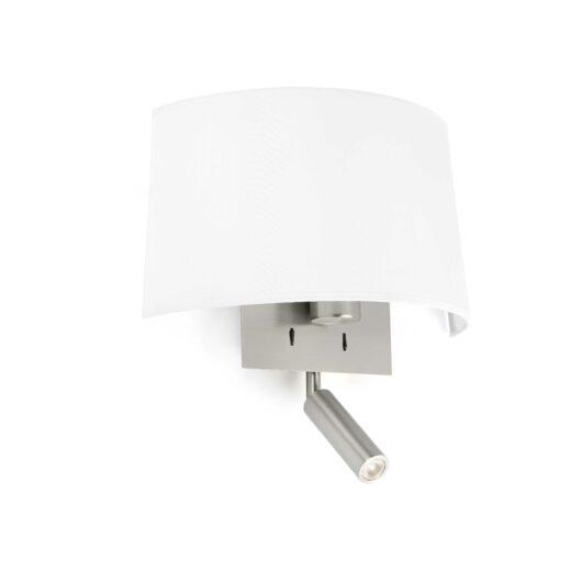 Volta Alb Lampa de perete With Led Reader E27 20W 2700 1