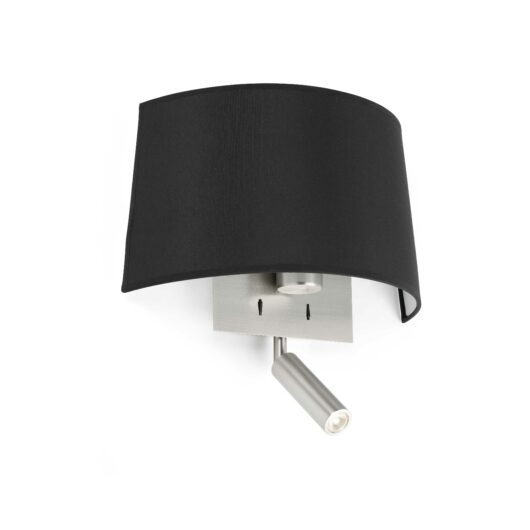 Volta Negru Lampa de perete With Led Reader E27 20W 2700 1