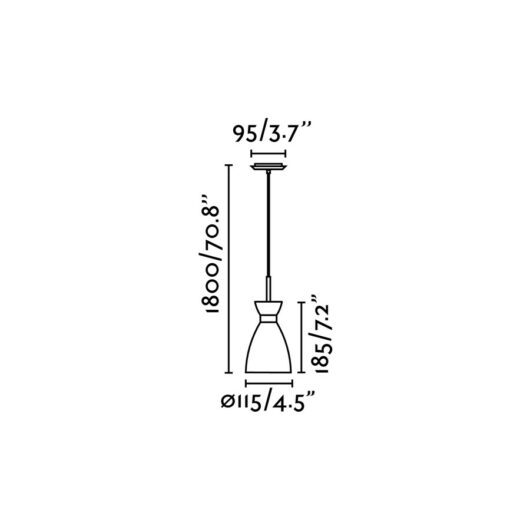 Retro Cupru candelabru 1 X E14 20W 2
