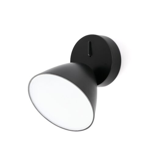 Flash Led Negru Lampa de perete 1L 1