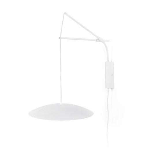 Lampa de perete Extensible Alb Led  Ø40 Cms 1