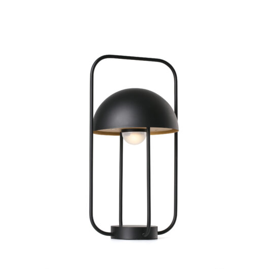 Jellyfish Negru / Gold lampa portabila 3W 2700K 1