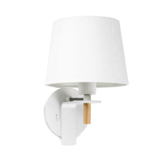 Fusta Alb Lampa de perete 1 X E27 20W 1
