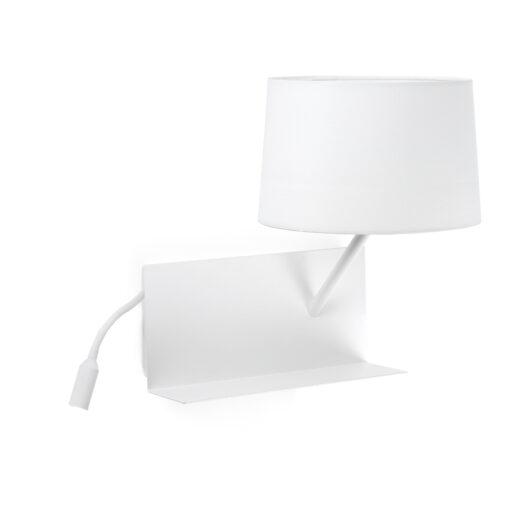 Hsiy Alb Dreapta Lampa de perete 1Xe27 20W Usb Led 3W 1