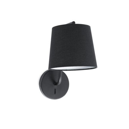 Berni Negru Lampa de perete 1 X E27 20W 1