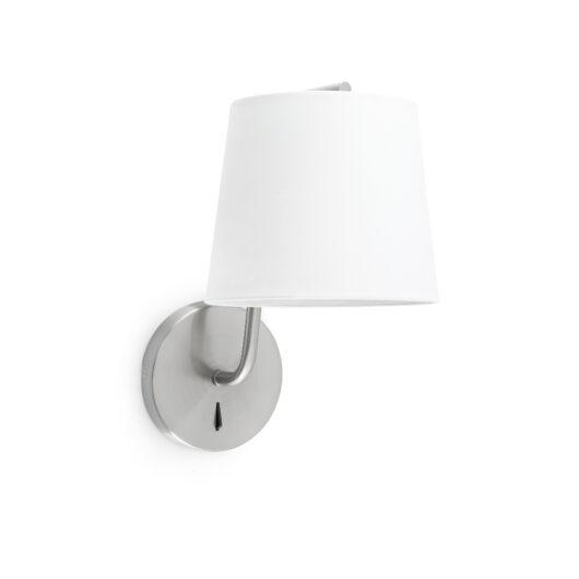 Berni Satin Nickel Lampa de perete 1 X E27 20W 1