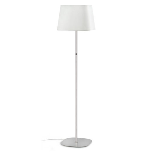 Sweet Matt Nickel/Alb Lampadar E27 20W 1