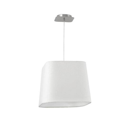 Sweet Matt Nickel/Alb candelabru E27 20W 1