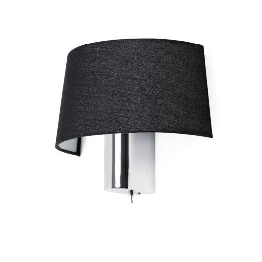 Hotel Negru Lampa de perete 1 X E27 60W 1