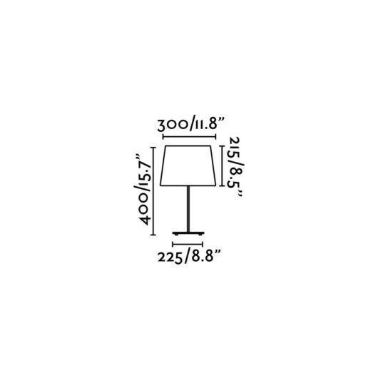 Sweet Negru veioza 1 X E27 60W 2