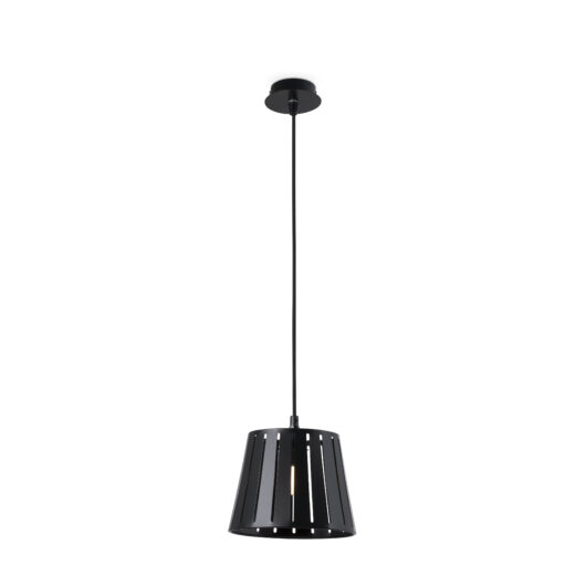 Mix Negru candelabru 1 X E14 60W H215Mm 1