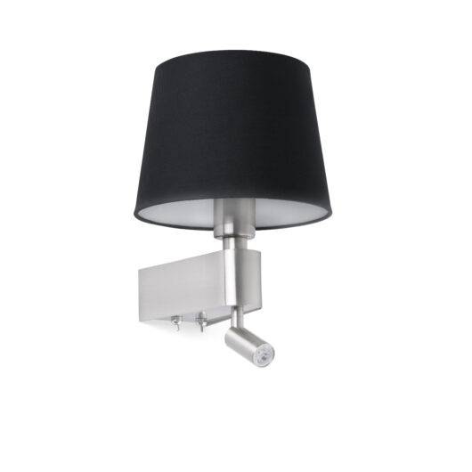 Room Negru Lampa de perete With Led Reader 2700K 1