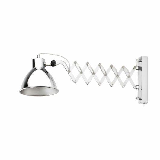 Petra Chrome Extensible Lampa de perete 1 X E14 40W 1