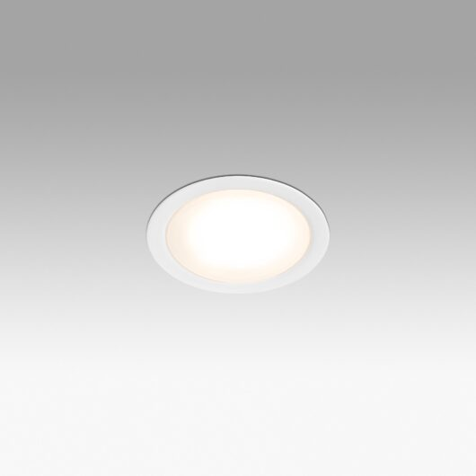 Led Mini Chrome Recessed 1 Led 3.5W 3000K 1
