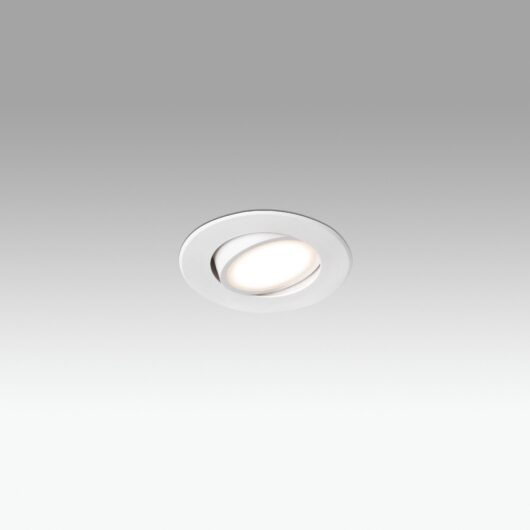 Koi-2 Alb orientabil Recessed 12 Led 0.5W/ Led 3 1