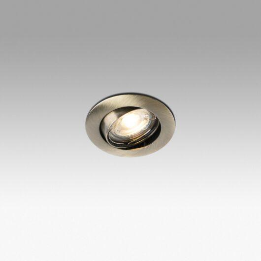 Movil Aluminium Recessed 1 X Mr16 50W 1