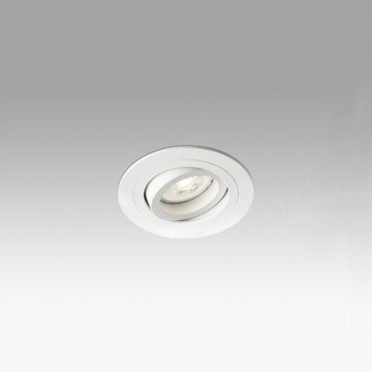 Radón Adjustable Alb Recessed Lamp GU10 1