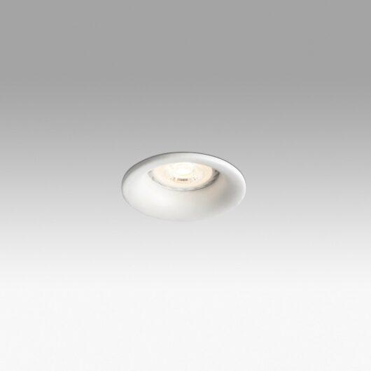 Neón Alb Recessed Lamp 1XGU10 Circ 1