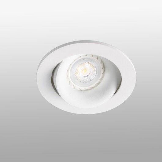 Argón Adjustable Alb Recessed Lamp GU10 1