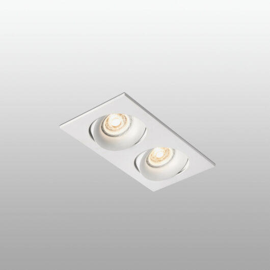 Argón-2 Adjustable Alb Recessed Lamp 2XGU10 1