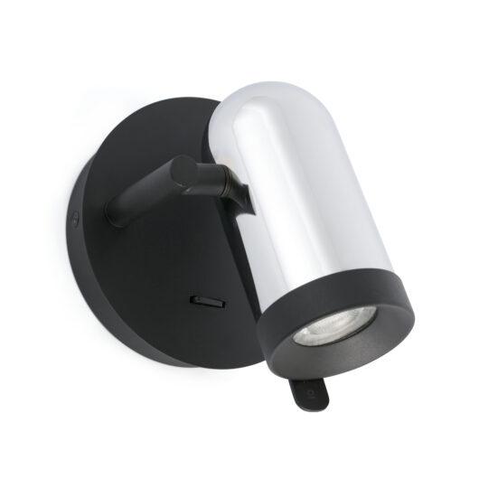 Orleans Chrome Lampa de perete 1L 1