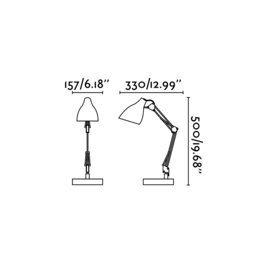Gru Negru Reading Lamp 1 X E27 11W 2