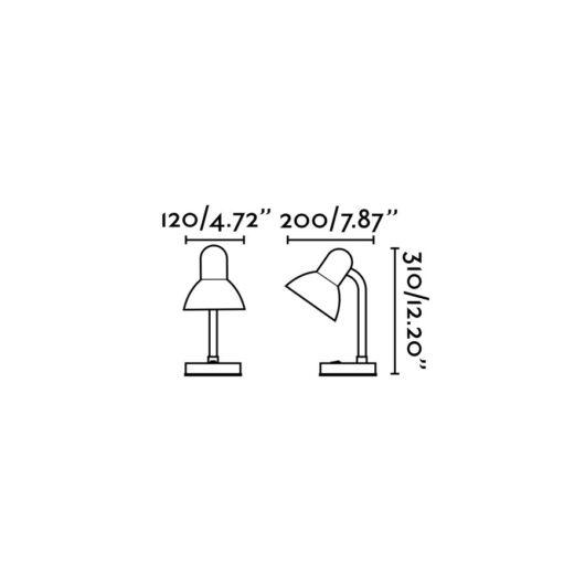 Sam Rosu Reading Lamp 1 X E27 40W 2