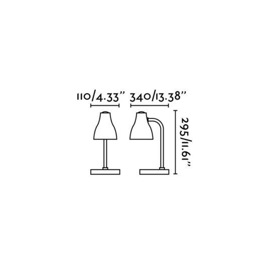 Bob Albastru Reading Lamp 1 X E27 15W 2