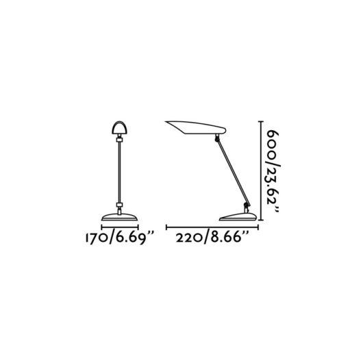 Meier Led Negru Office Reading Lamp  Led 9W 300 2