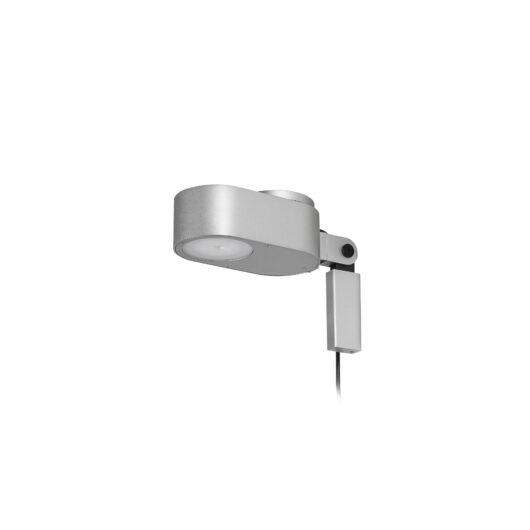 Invinting Lampa de perete Gri Led 6W 2700K-4800K 1