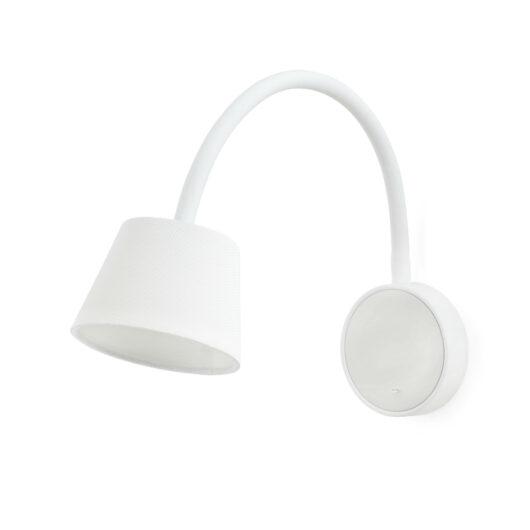 Blome Alb Lampa de perete 1