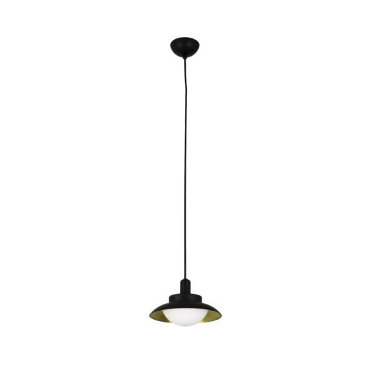Side Led Negru si Gold candelabru G9 1