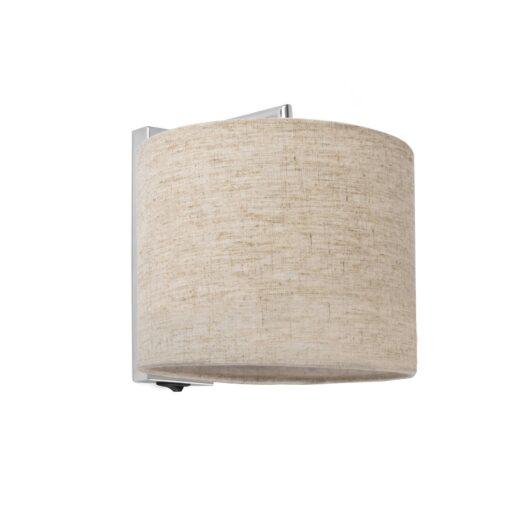 Sahara Chrome Lampa de perete Line Shade 1