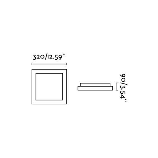 Tola-2 Alb plafoniera 2 X E27 20W 2