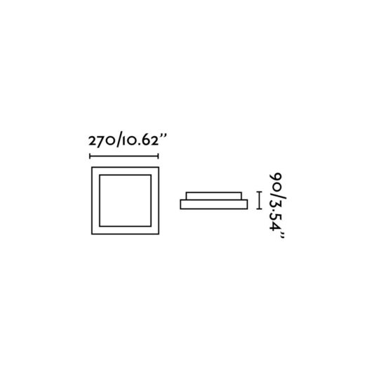 Tola-1 Gri plafoniera 1 X E27 20W 2