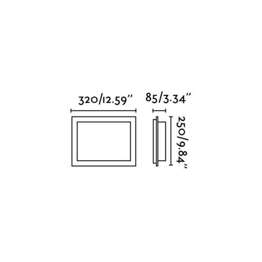 Diula-2 Matt Nickel Lampa de perete 2 X E27 60W 2