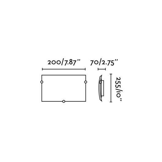 Diula-1 Matt Nickel Lampa de perete 1 X E27 60W 2