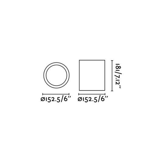 Pote-1 Negru Lampa de perete 1 X E27 60W 2