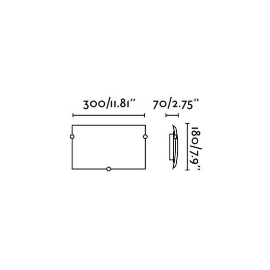 Liria-1 Matt Nickel Lampa de perete 1 X E27 60W 2
