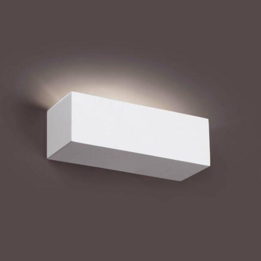 Eaco-1 Alb Lampa de perete 1 X G9 40W 1