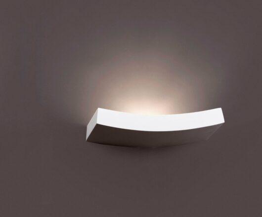 Eaco-3 Alb Lampa de perete 1 X R7S Jp78 100W 1