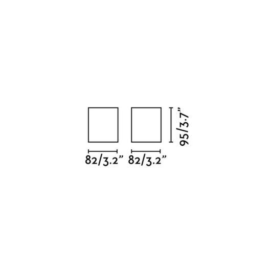 Tecto Alb plafoniera 1 X GU10 50W 2